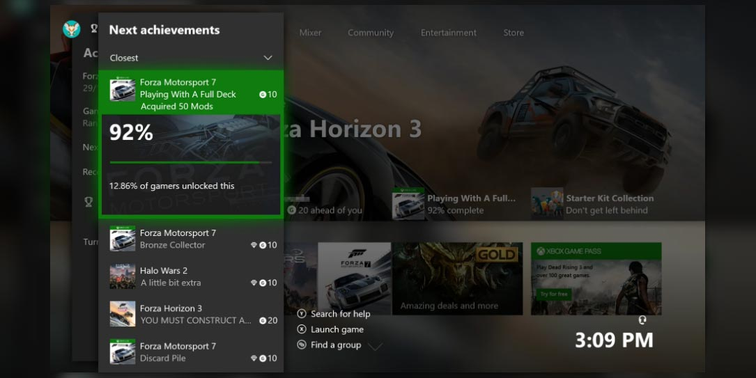 New Xbox features in the works; Next Achievements, Do Not Disturb, More