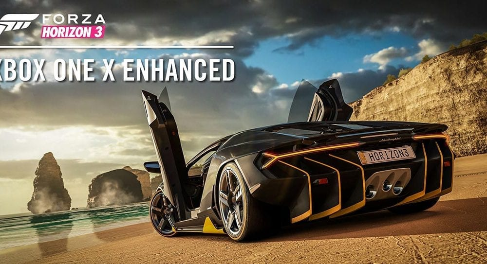 Xbox One X Enhanced Forza Horizon 3 update available today
