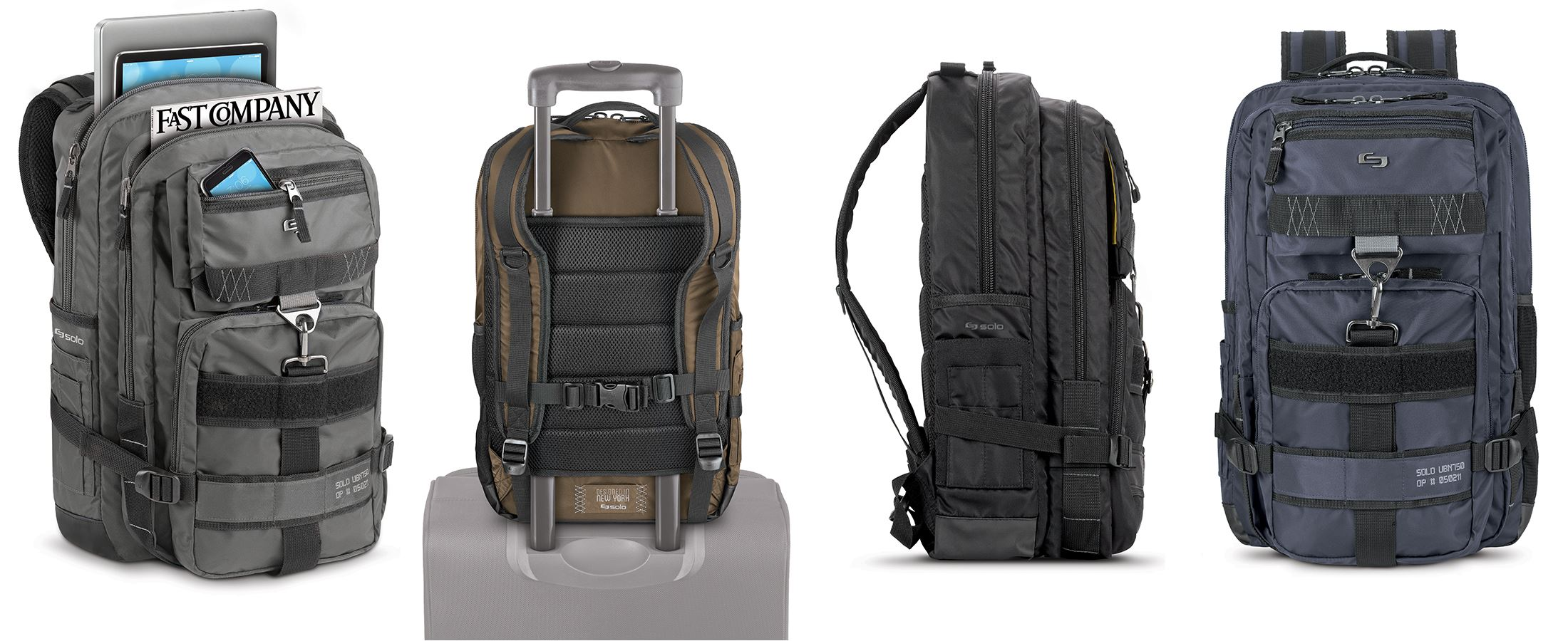 Solo Backpack Designed In New York