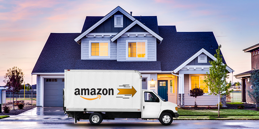 Amazon jumps in the ring to take on UPS and FedEx delivery