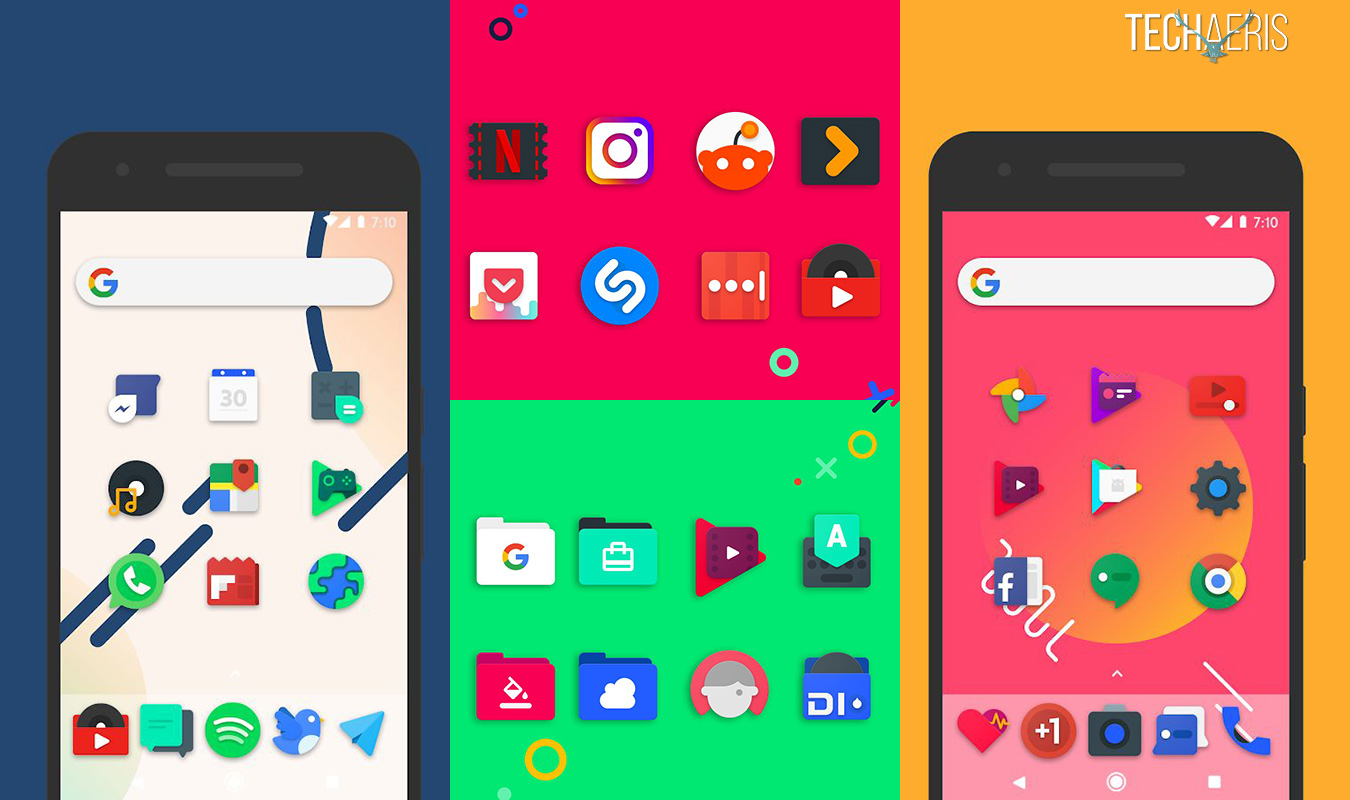 Here are 20 Android icon packs I use on my Essential PH-1