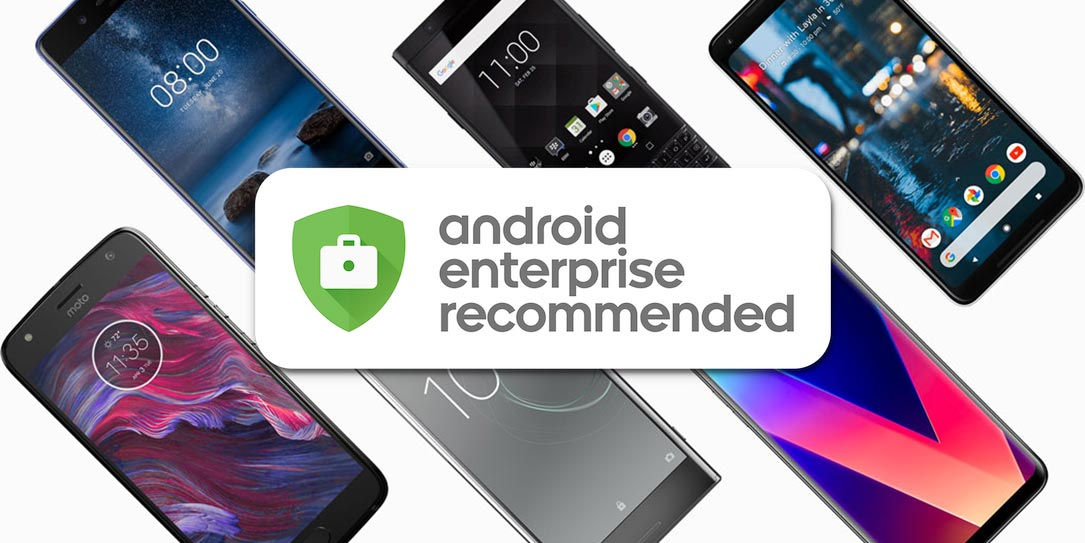 Google-Android-Enterprise-Recommended