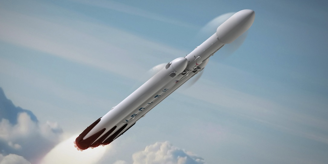 Ukraine Contributes to Success of Falcon Heavy Test Flight