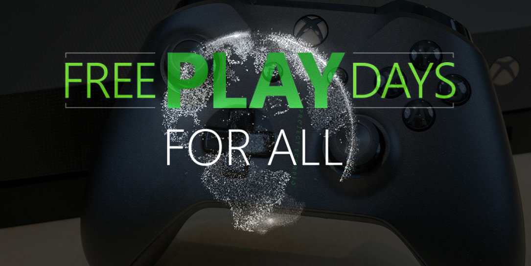 Play Xbox online multiplayer for free this weekend