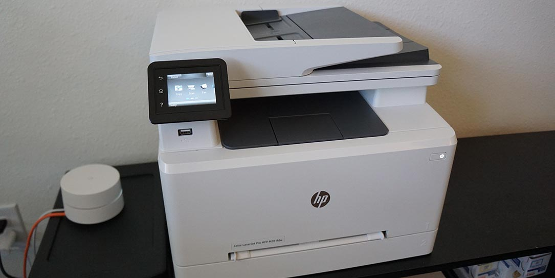 HP Color LaserJet Pro MFP M281fdw review: Fast print jobs ...