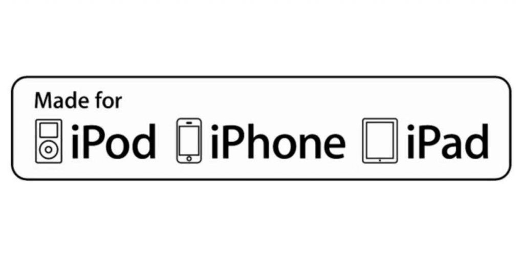 Apple updates its Made-for-iPhone (MFi) branding for accessory makers