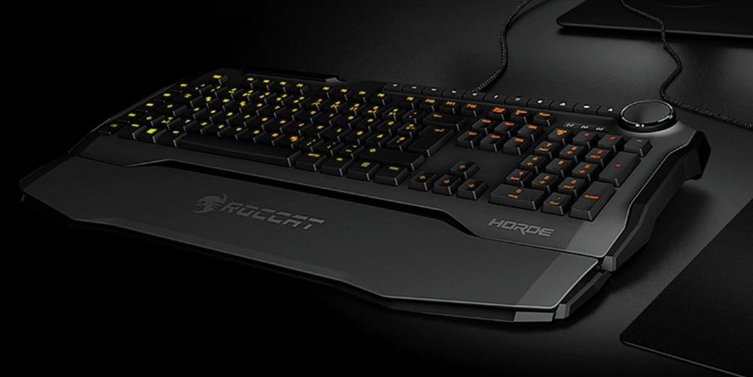 ROCCAT-Horde-AIMO-Membranical-gaming-keyboard