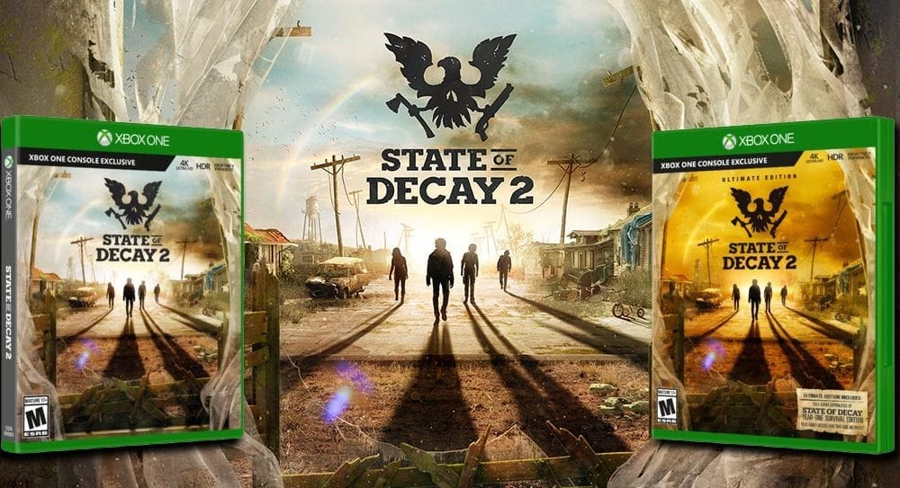 Xbox exclusive State of Decay 2 gets release date, available