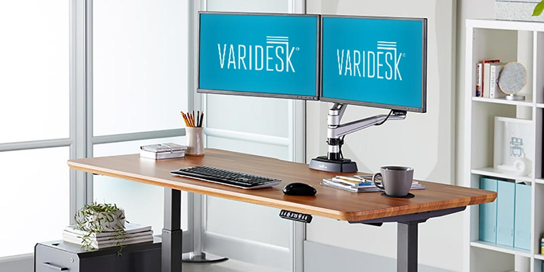 Varidesk Adds Prodesk 60 Electric Standing Desk To Active
