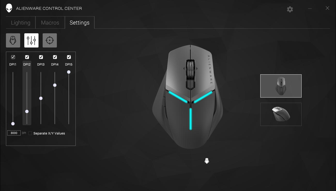 Alienware-Control-Center-Settings-screenshot