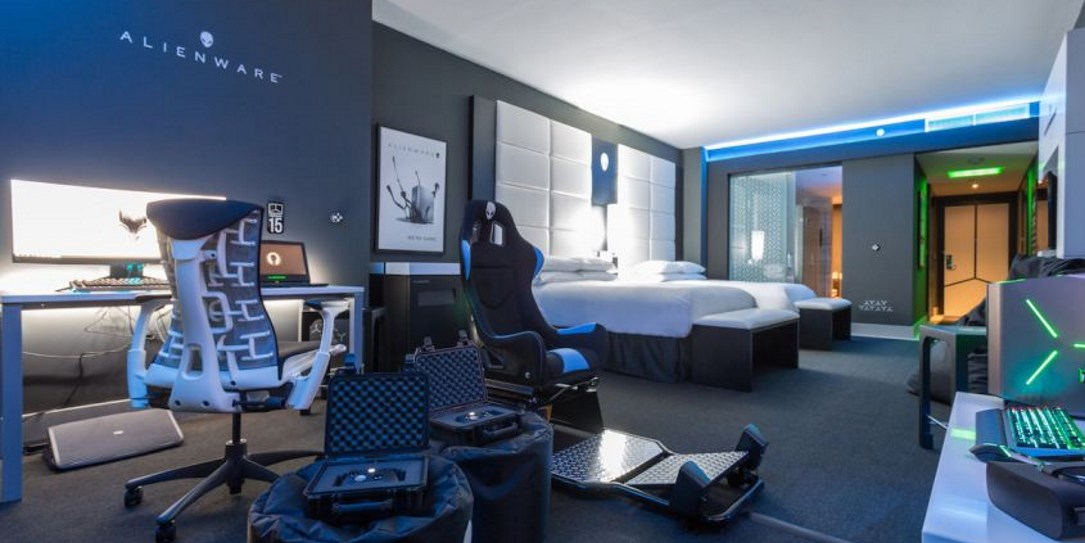 Alienware Builds a Gaming Hotel Room at the Hilton Panama