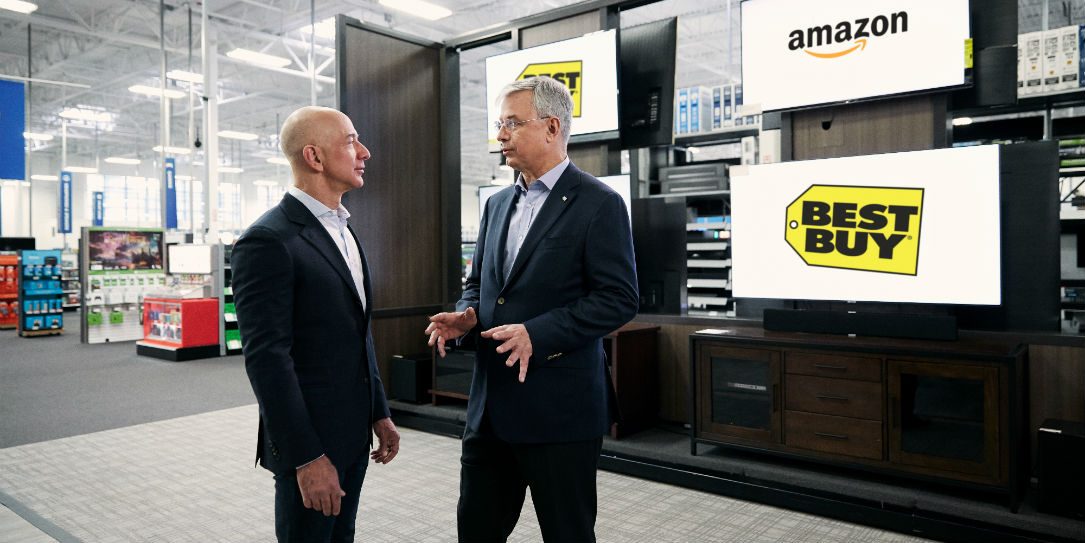 Amazon and Best Buy to sell TVs together