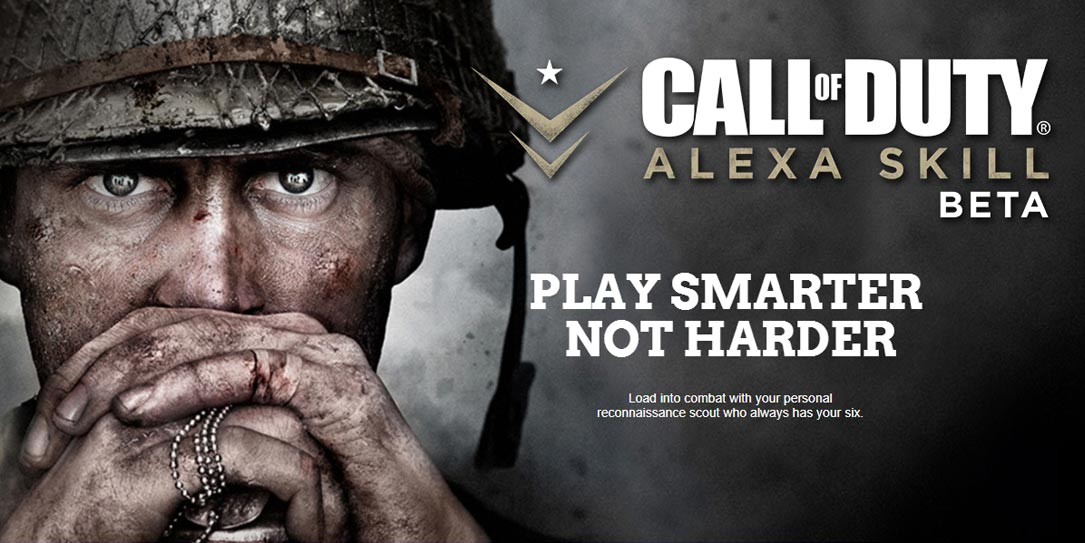 Activision Now Supports Amazon Alexa For Call of Duty WW2