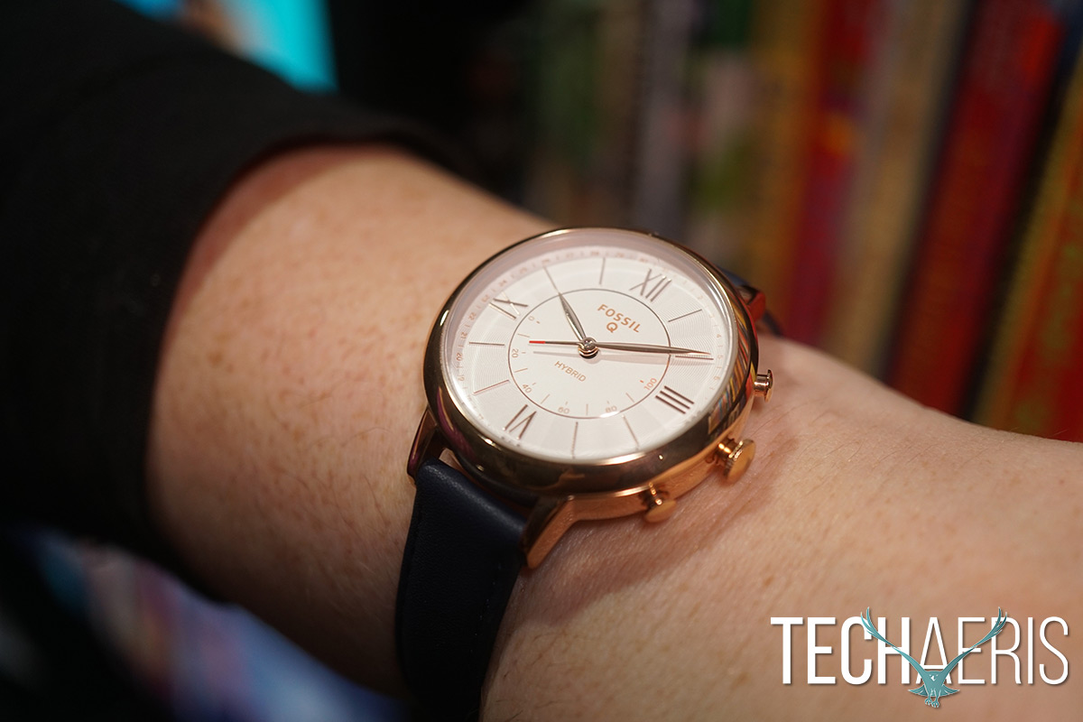 Fossil Q Jacqueline hybrid smartwatch review: Hybrids are ...
