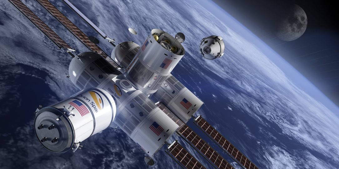 $9.5 million for space hotel stay