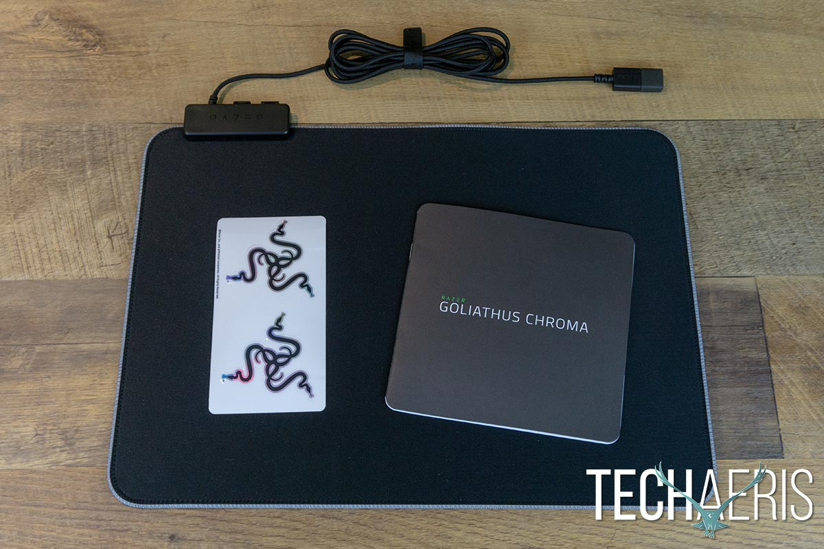 Razer Goliathus Chroma Review Rgb Lighting Comes To Soft Surfaced Mousepad Gaming Mouse Pad Gamers Game 01