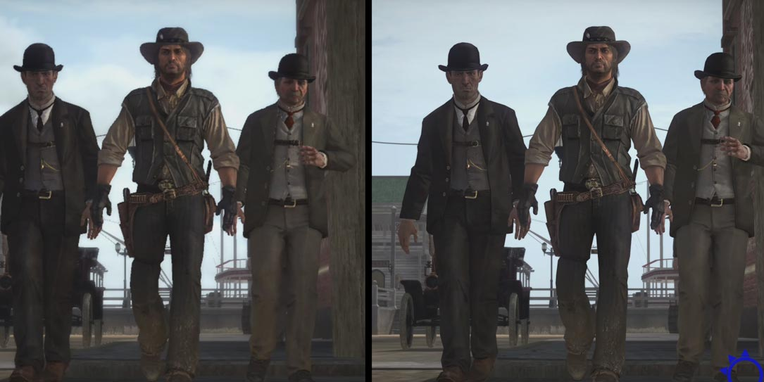 Xbox One X Enhanced Red Dead Redemption looks amazing