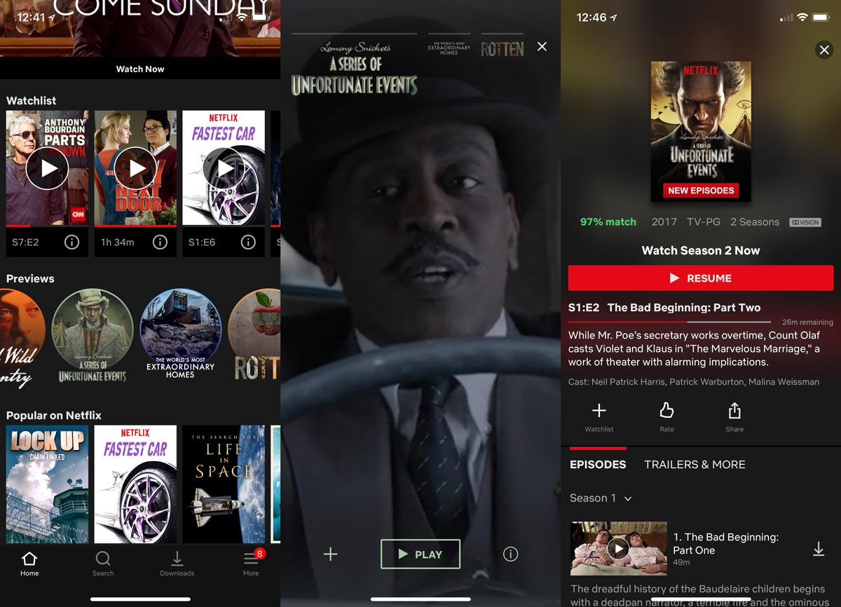netflix-ios-mobile-video-previews-screenshots