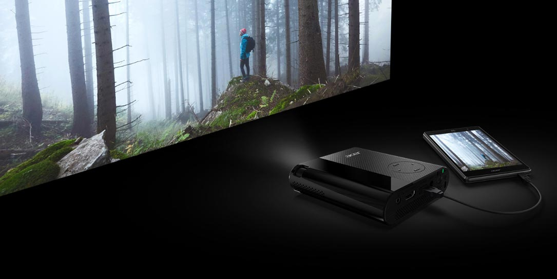 Acer C200 pocket-sized portable projector offers big ...