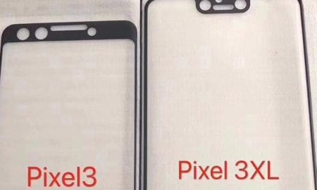 Google's Pixel 3 and Pixel 3 XL screen protectors leak.