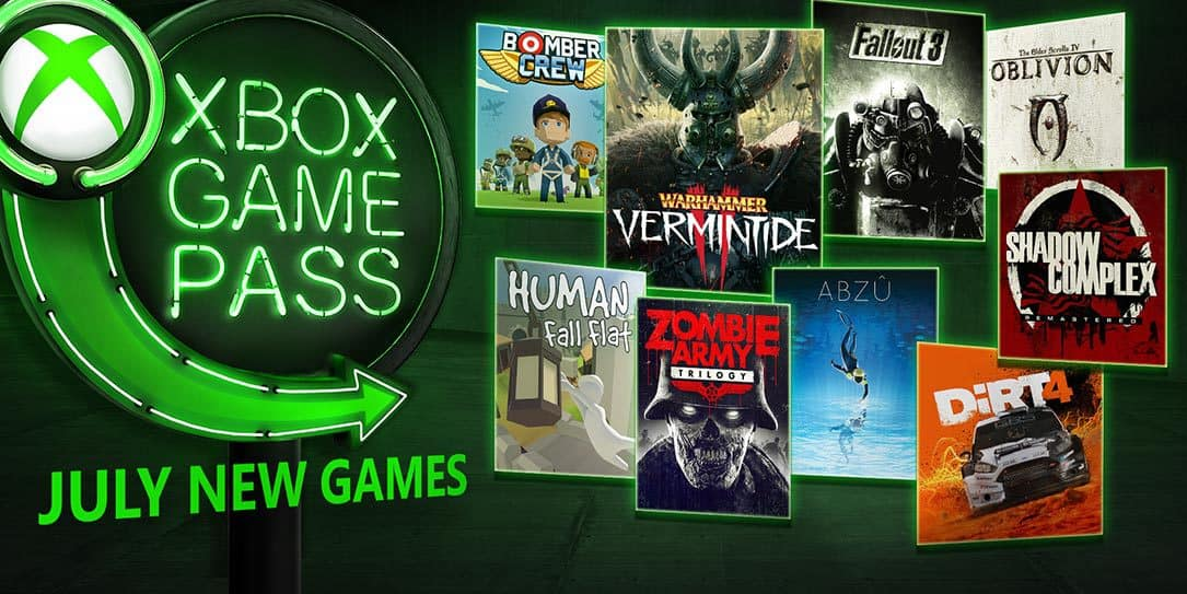 Xbox-Game-Pass-July