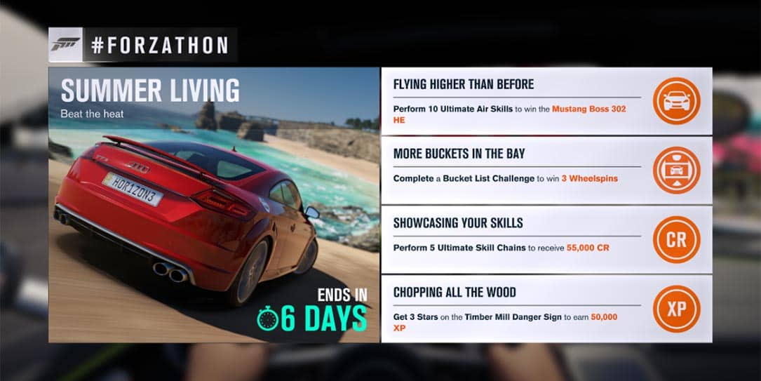Forza Horizon 3 #Forzathon July 6-12: