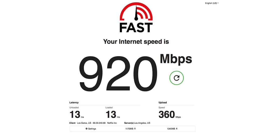Netflix's Fast.com now measures latency & upload speeds