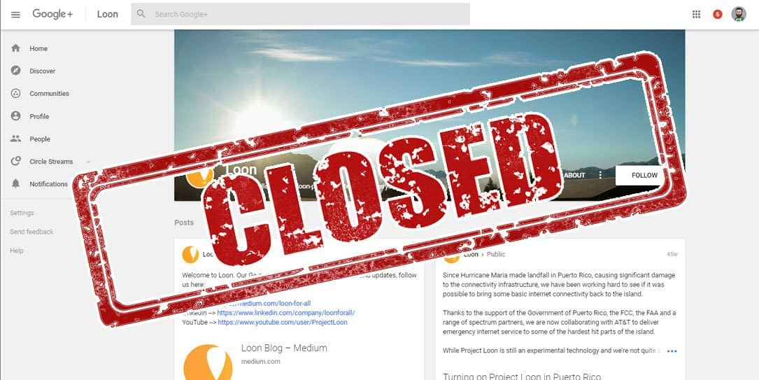 Another one bites the dust: Google shutters Project Loon
