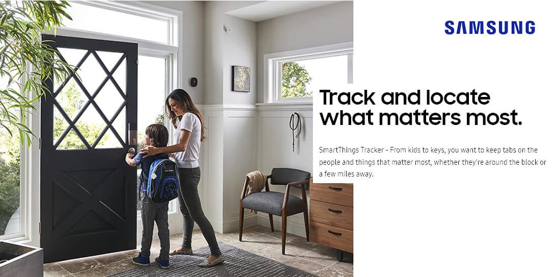 Samsung introduces LTE-M SmartThings tracker on AT&T and Verizon