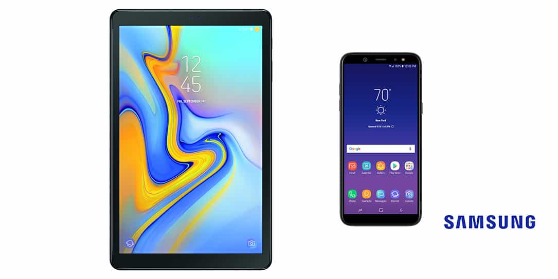 samsung introduces the galaxy a6 and galaxy tab a 10 5 to the us market. Black Bedroom Furniture Sets. Home Design Ideas