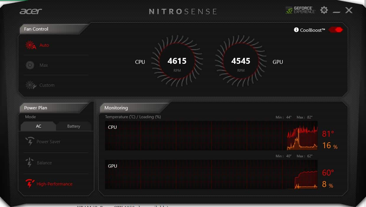 acer-nitrosense-screenshot