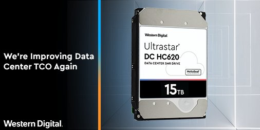 Western Digital Ultrastar DC HC620