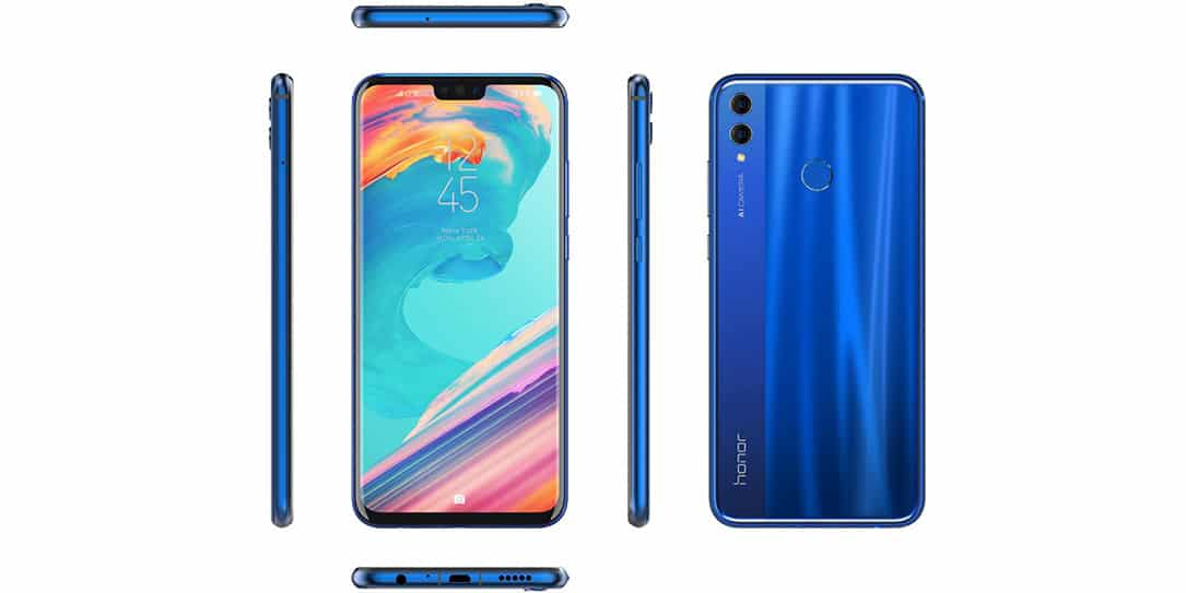 The Honor 8X launched today with a 91% screen-to-body ratio