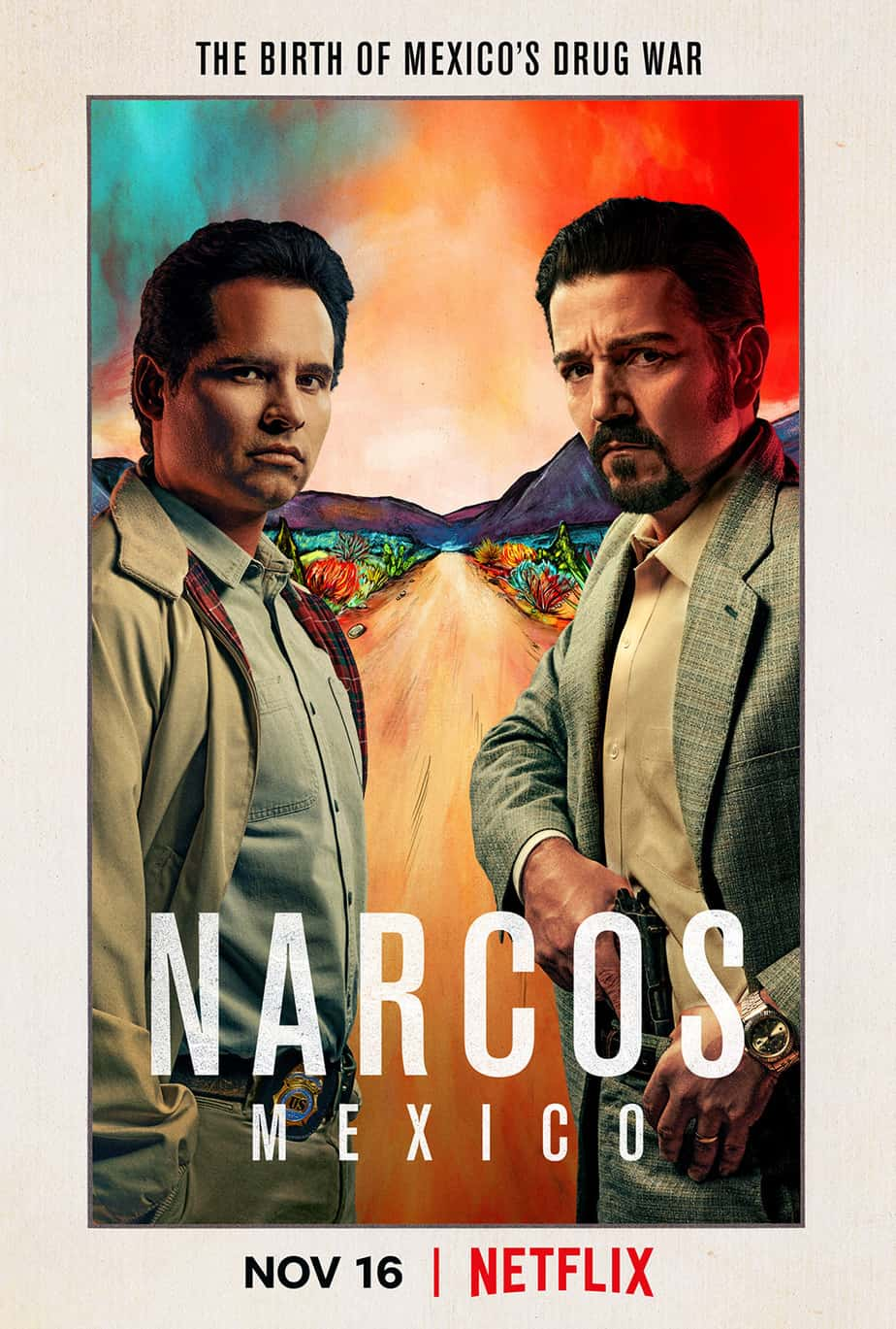 The first official trailer of Narcos: Mexico is here and it is amazing