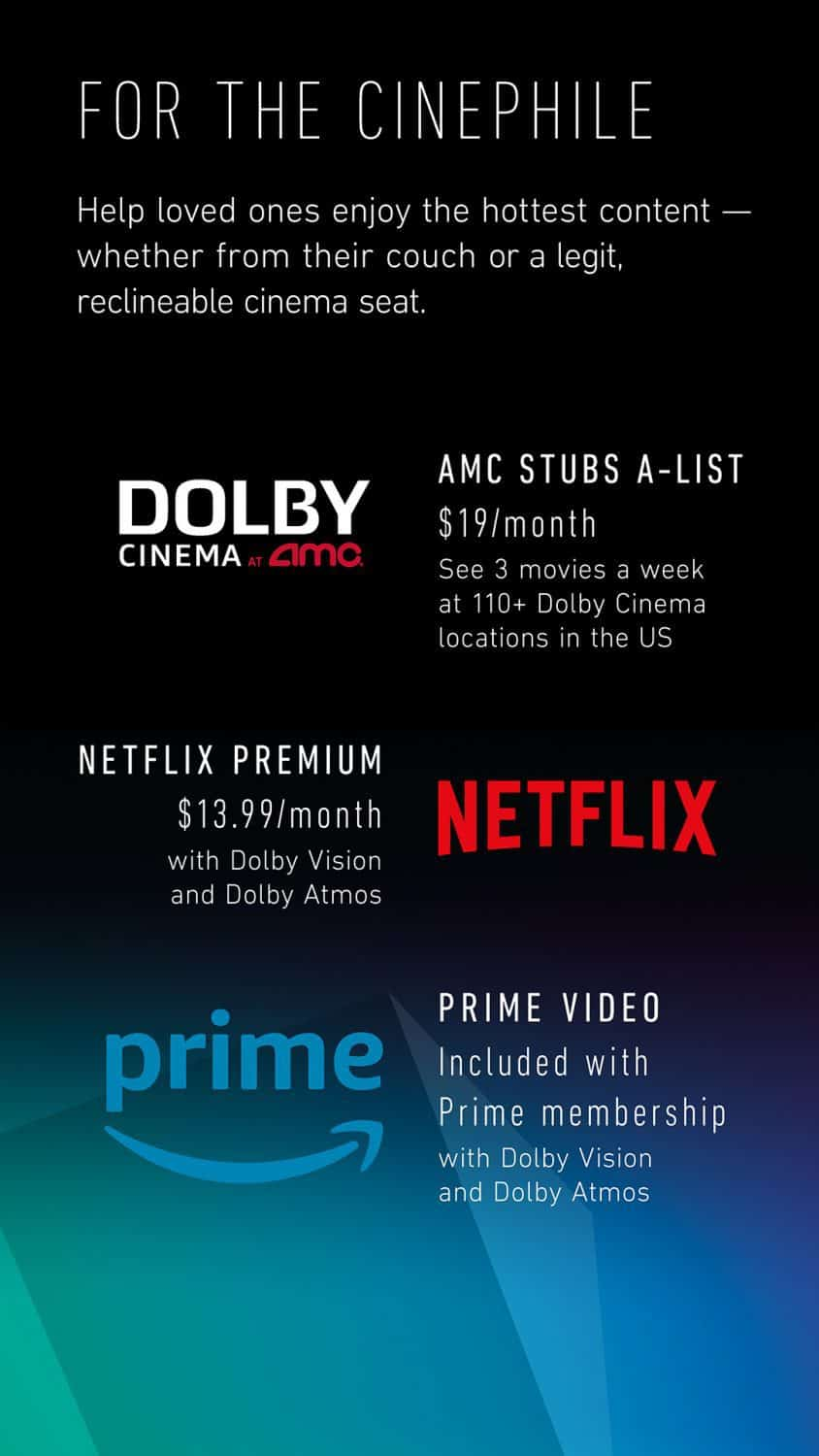 List of dolby atmos movies
