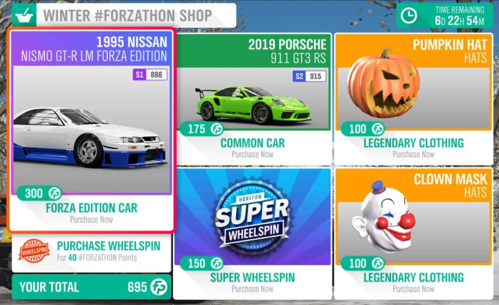 Forza-Horizon-4-Forzathon-November-8-Winter-Forzathon-Shop