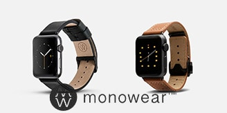 Monowear Apple Watch watchbands