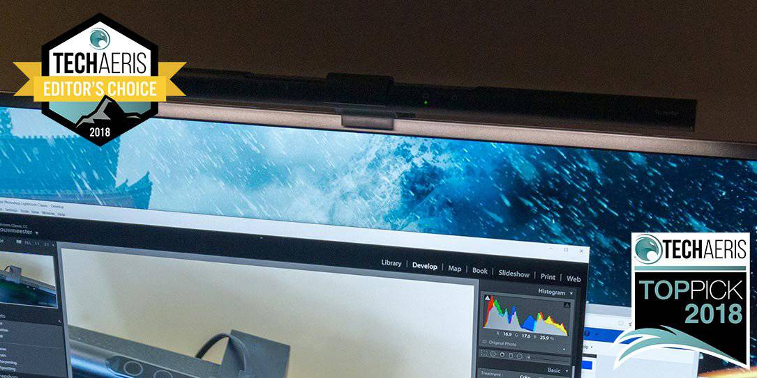 Benq Screenbar Review A Must Have Desk Lamp For Those Working In Dimmer Lighting Conditions