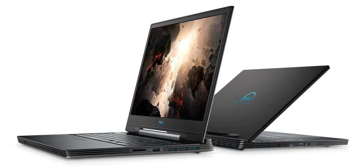 The Dell G7 17 gaming laptop.