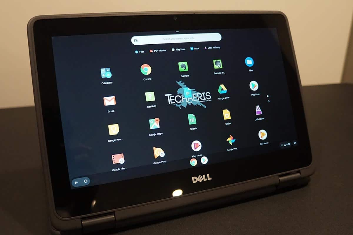 Dell-Inspiron-Chromebook-11-2-in-1-stand-Mode