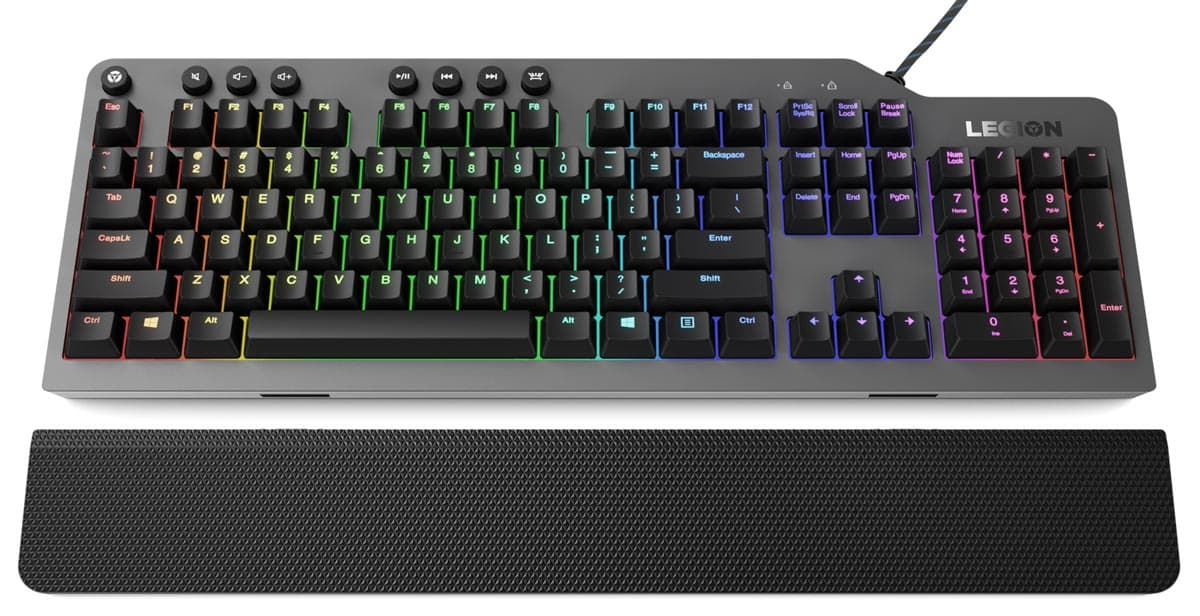 Lenovo Legion K500 RGB Mechanical Keyboard.