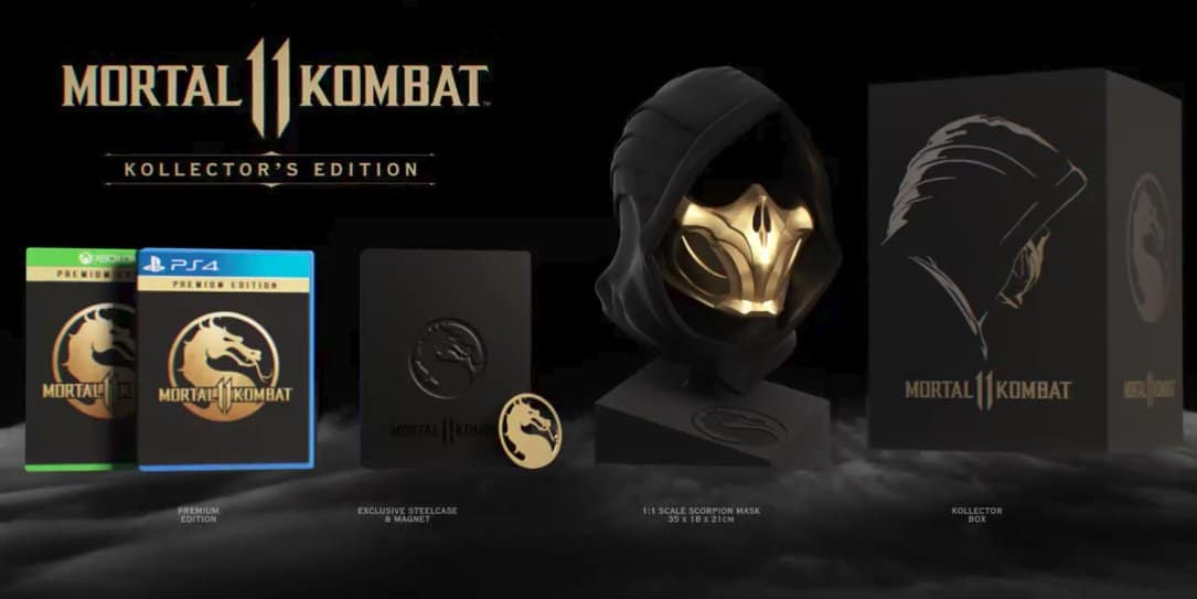 Mortal Kombat 11 Kollector S Edition To Feature Full Size Scorpion
