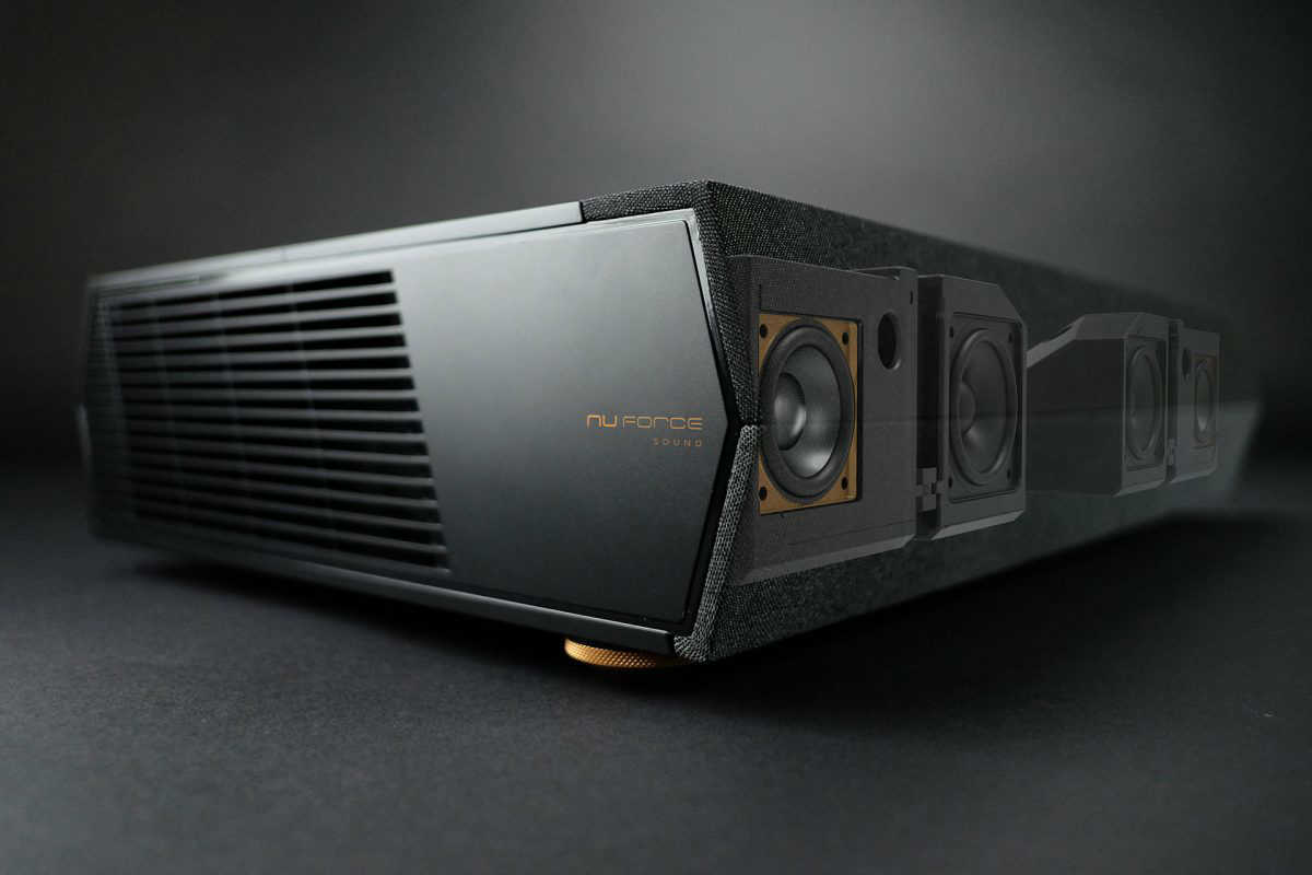 Optoma P1 Smart 4K UHD Laser Cinema NuForce