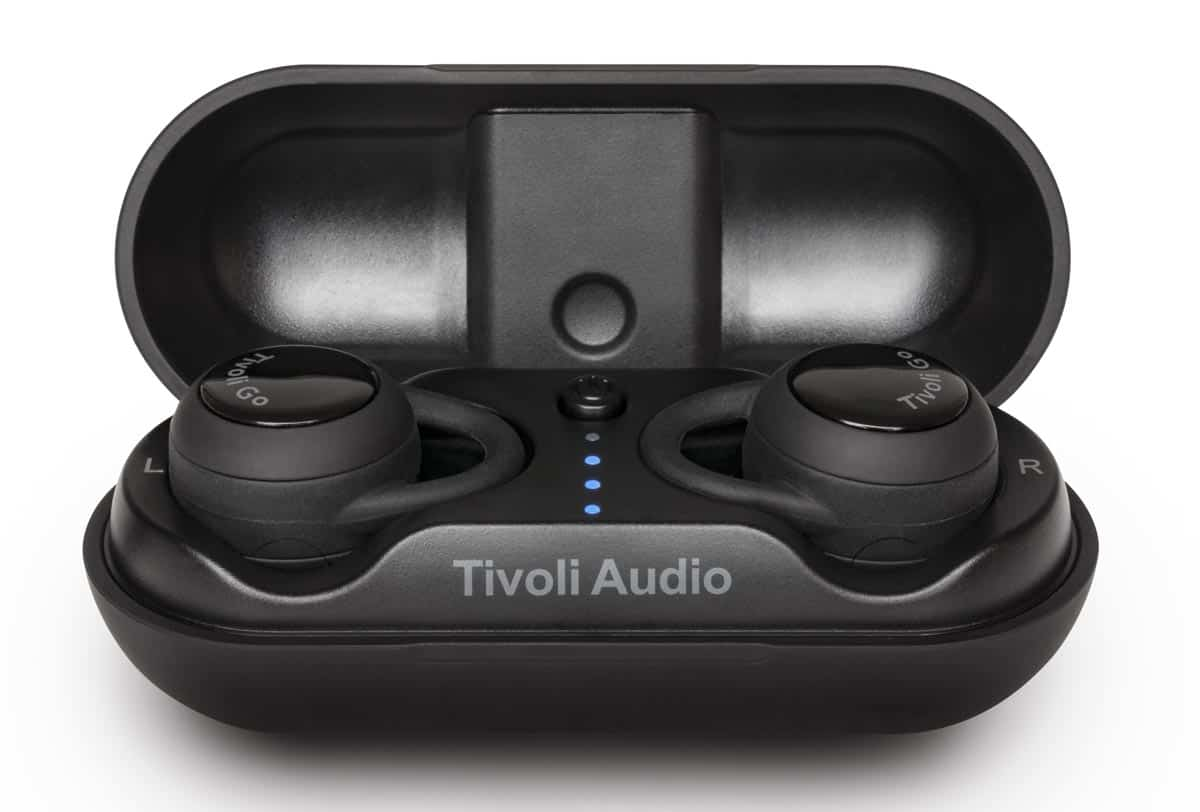 Tivoli Audio Fonico Bluetooth Earbuds with charging carry case