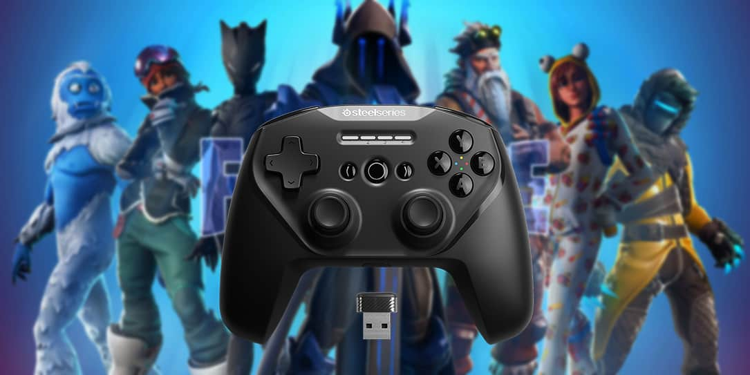 steelseries multi platform mobile controllers are now fully compatible with fortnite - android fortnite controller compatible