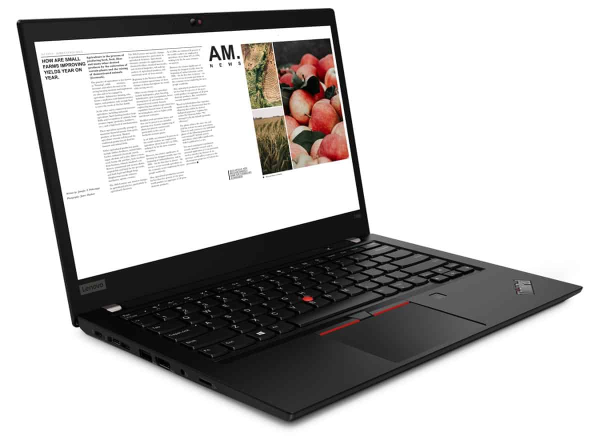 The Lenovo ThinkPad T490