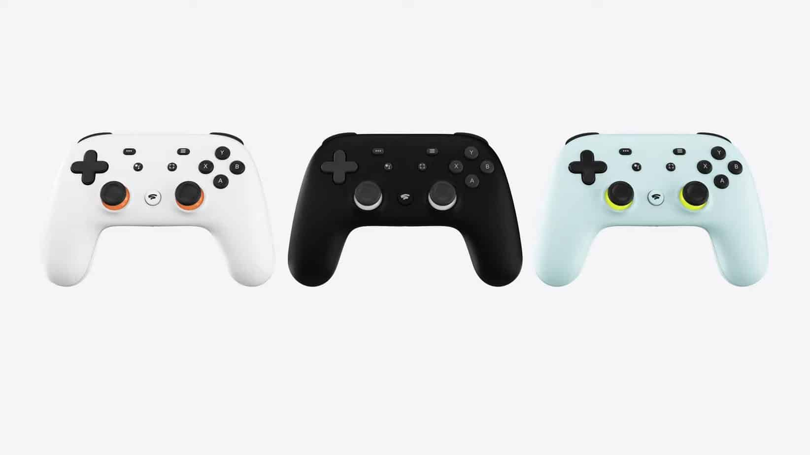 The Stadia Controller.