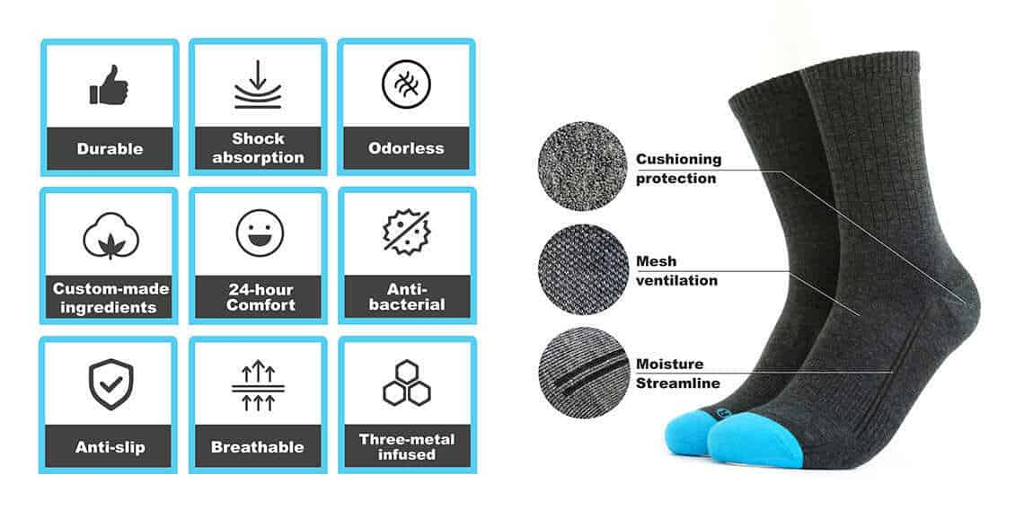 The upcoming Magic-Premium socks offer even more quality.