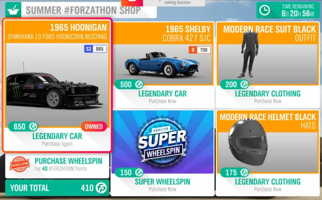 Forza-Horizon-4-Forzathon-April-11-Summer-Forzathon-Shop