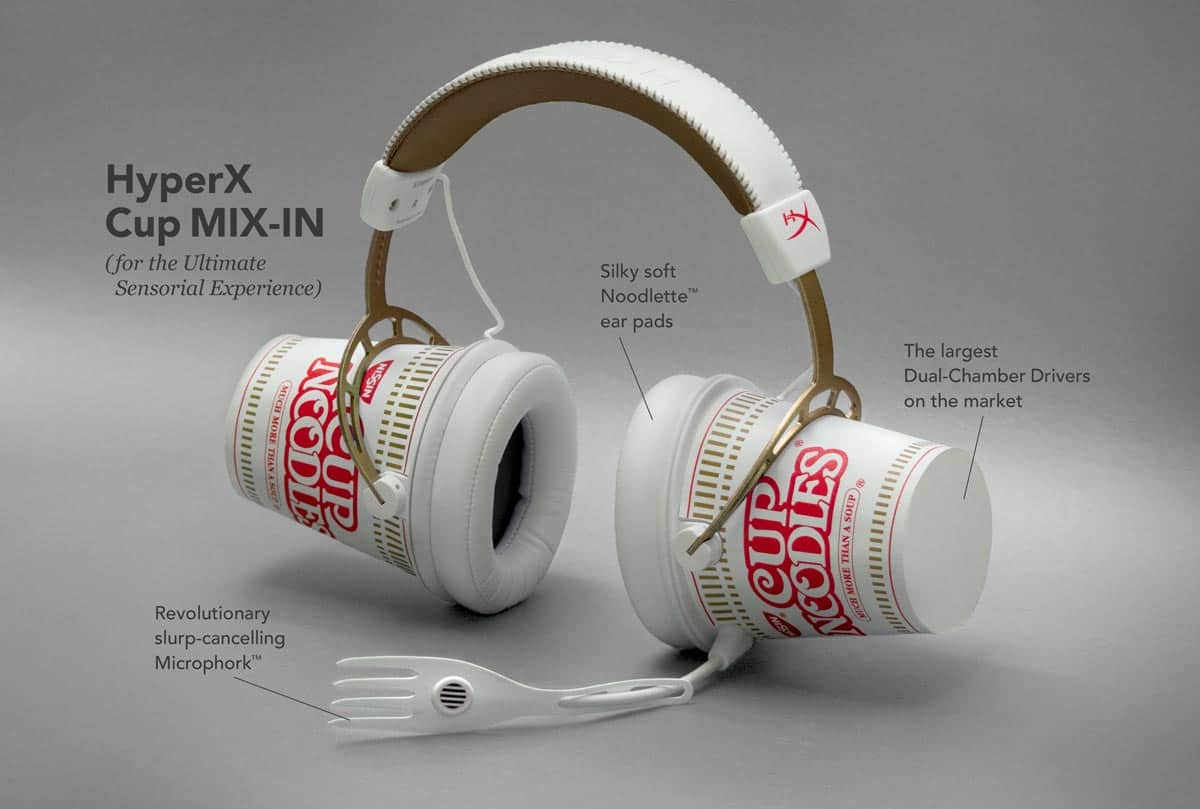 HyperX Cup MIX-IN headset.